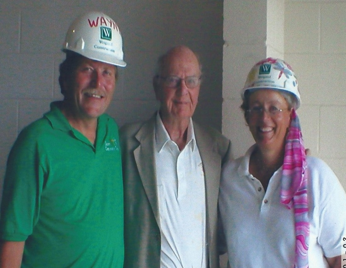 history- wayne and sue hard hats